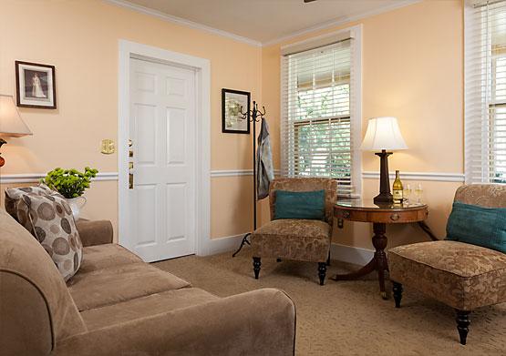 Wilson Suite living room