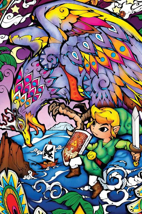 Keith Haring Iphone Wallpaper Deco Chambre Zelda Helmaroc King Stickers Muraux Zelda