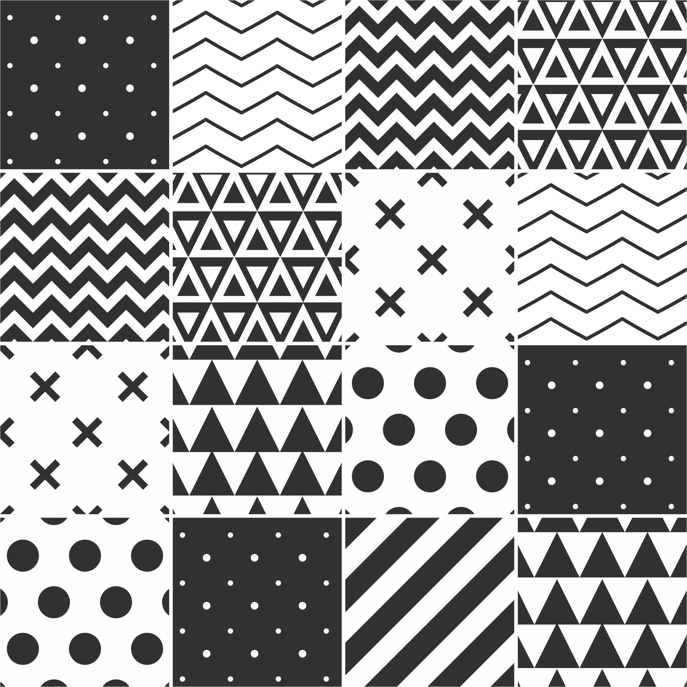 Black Dot Wallpaper Papel De Parede Adesivo Azulejo Formas Preto E Branco