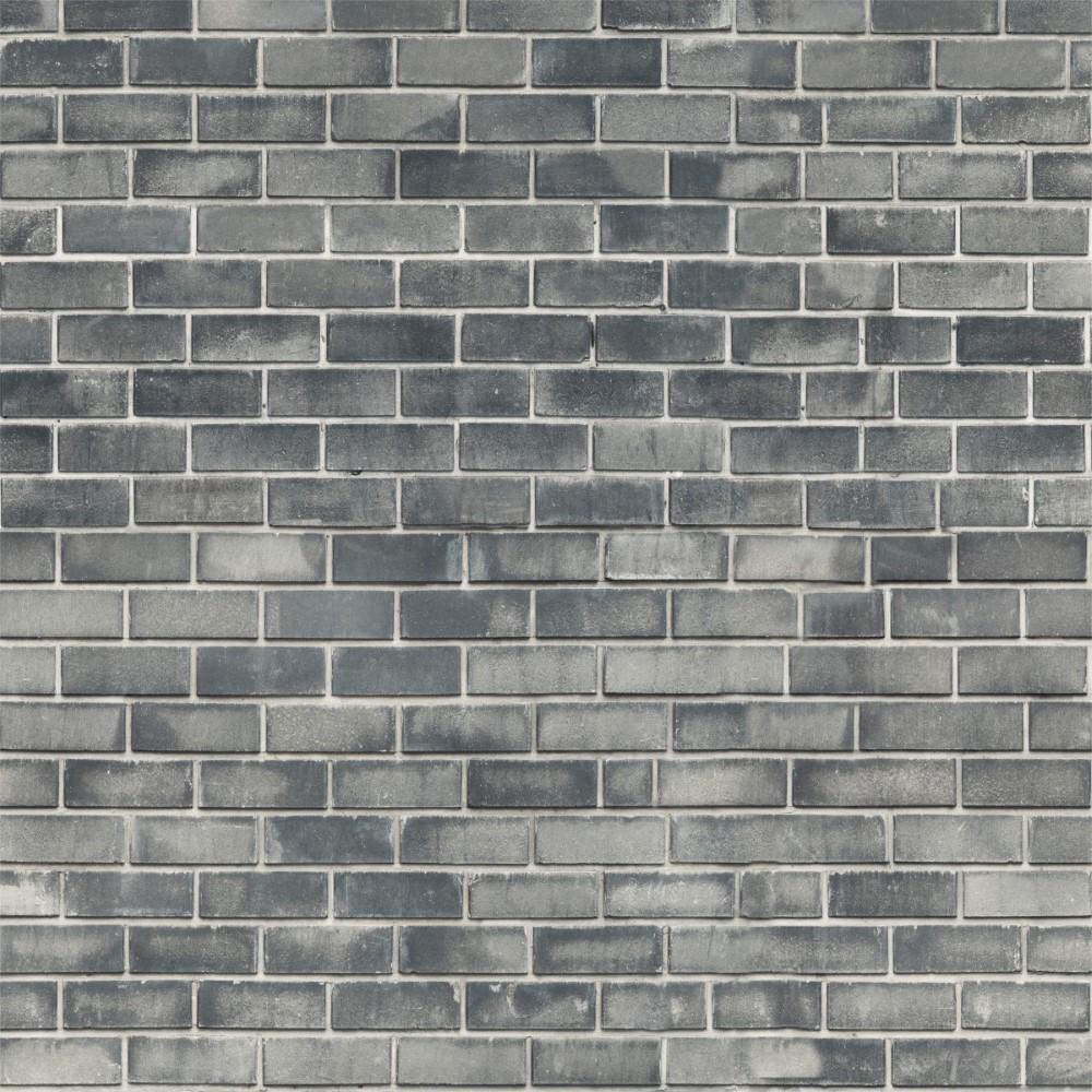 Wallpaper Stone 3d Papel De Parede Adesivo Tijolo Cinza Stickdecor