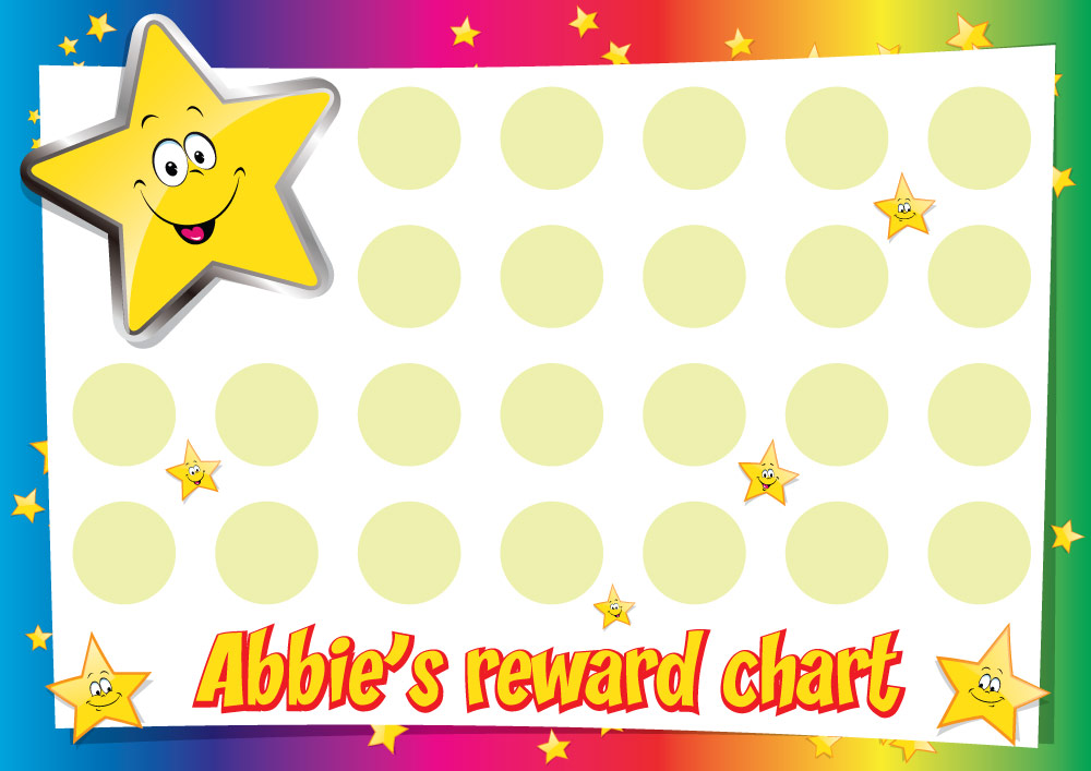star sticker chart - Apmayssconstruction