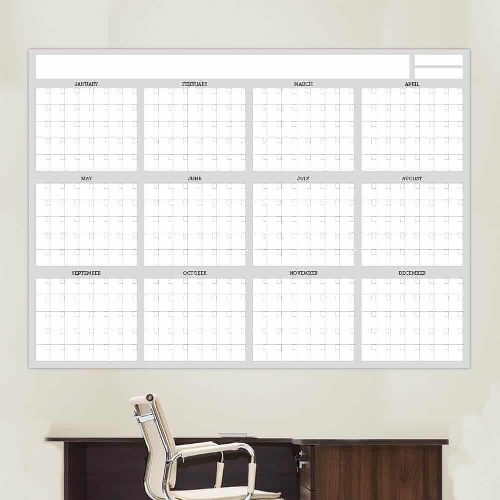 Wall Calendars Dry Erase 2018 Mom Calendars Dry Erase Fridge Moms Plan It 12 Month Dry Erase Calendar Calendar Wall Decal
