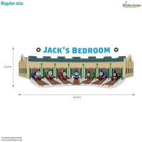 Personalised Tidmouth Sheds wall sticker | Thomas ...