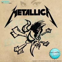 Metallica logo Wall Art - Vinyl Wall Decal