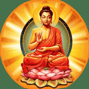 Gautam Buddha Hd Wallpaper Download Colourful Buddha Transparent Png Stickpng