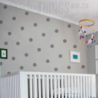 Large Polka Dot Wall Sticker - Wall Pattern Decal Stickers