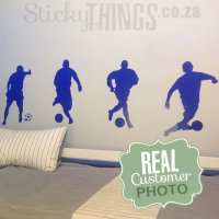 Soccer Wall Decal - Football Wall Sticker South Africa
