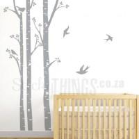Birch Trees Wall Art- Birch Trees Wall Decals ...