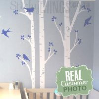 Nursery Wall Decals - Birch Forest - StickyThings.co.za