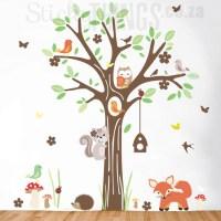 Woodland Forest Wall Art Sticker - StickyThings.co.za