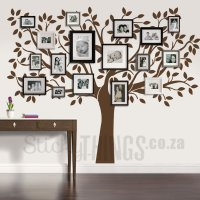 Family Tree Wall Art Decal - StickyThings.co.za