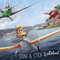 Planes Wall Mural - Disney Planes XL Sized Wallpaper Mural ...