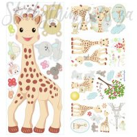 giraffe-wall-sticker  StickyThings Wall Stickers South ...