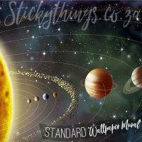 solar-system-mural  StickyThings Wall Stickers South Africa%