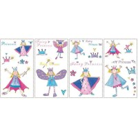 Fairy Princess Wall Decals - Peel and Stick Fairy Princess ...