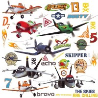 Disney Planes Wall Decals - Roommates Disney Planes Wall ...