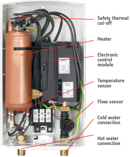 DHC-E Single or Multi-Point-of-Use Tankless Electric Water Heaters
