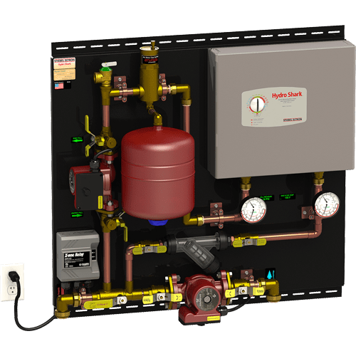 radiant heat wiring diagram
