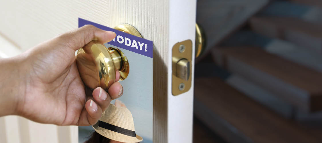 Door Hangers - retail and consumer door hanger template