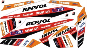 Striping Motor Honda Beat Repsol