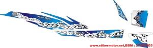 striping motor shogun rr tribal