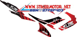 striping motor Satria Fu my trip my adventure 2