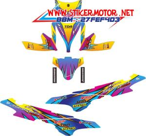 striping motor Sky Wave alpinestars 2