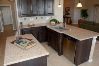 Custom Cabinets with Granite tops