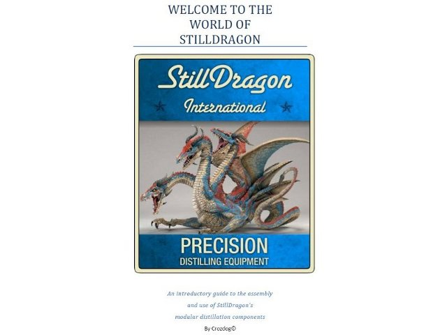 The StillDragon Operation Manuals - Configuration Discussions on - operation manual