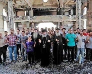 bisericilerestaurate in Egipt