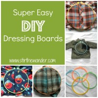 Super Easy DIY Dressing Boards