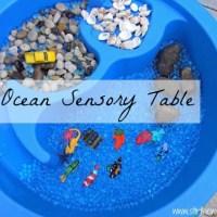 Ocean Sensory Table