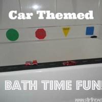 Bath Time Fun!: Car Themed
