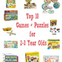 Top 10 Games & Puzzles for 2-3 Year Olds