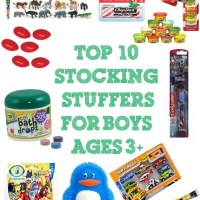 Top 10 Stocking Stuffers for Boys Ages 3+