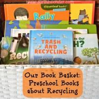 Preschool Books about Recycling