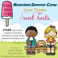 Neverland Summer Camp for Preschoolers- June: Sweet Treats