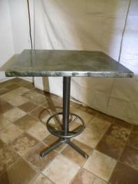 zinc table : Stissing Design