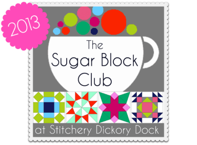 Sugar Block Club Button 2013 Label