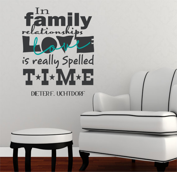 wall decal available from Willow Creek Signs on Etsy