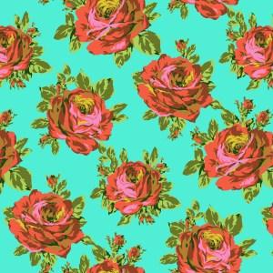 Amy Butler Fabric Eternal Sunshine Pwab160-rose-lore-sky