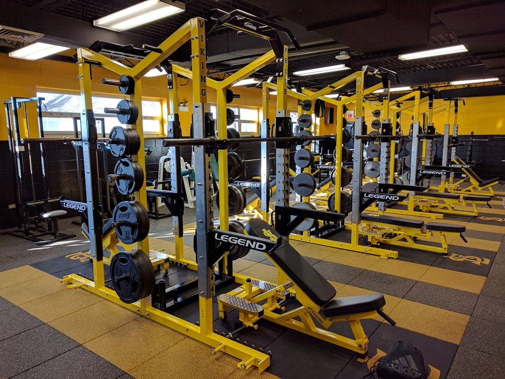 St Laurence Makes Updates To Grunhard Fitness Center St