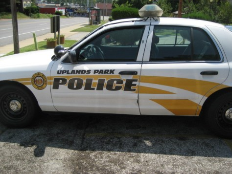 Photo of Uplands Park, MO police cruiser