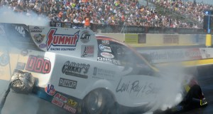 Tim Wilkerson Funny Car warm up