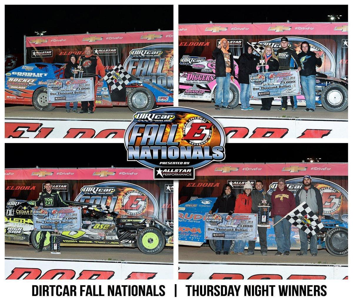 STEMLER, RUHLMAN, STRICKLER AND NICELY WIN DAY ONE UMP MODIFIED A-FEATURES AT ELDORA