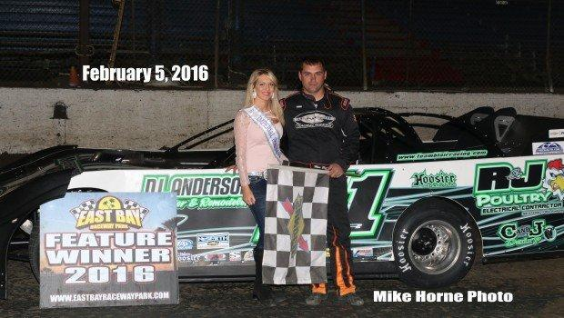 MAX BLAIR LIKED EAST BAY RACEWAY PARK AS A KID COMING WITH HIS FATHER, BUT HE LIKES IT BETTER AS A DRIVER WHO CONTINUES HIS WINNING WAYS FOR A SECOND YEAR IN THE SUNSHINE STATE.