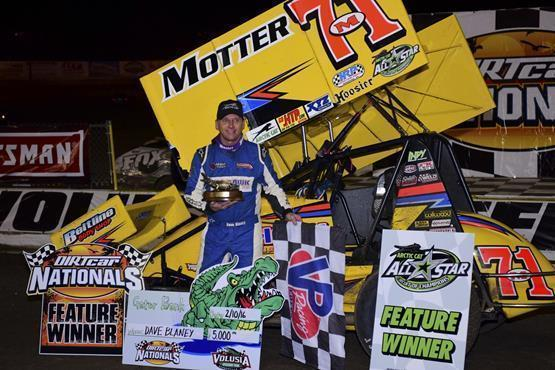 Dave Blaney Wins All Star Circuit of Champions Feature at DIRTcar Nationals