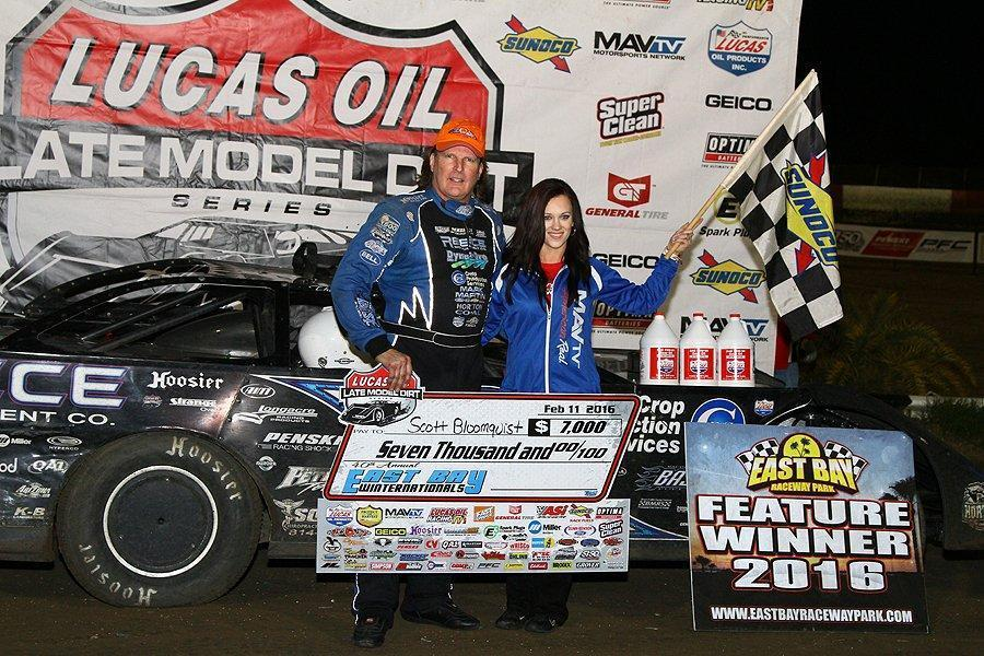 Bloomquist Runs Away with Thursday East Bay Victory