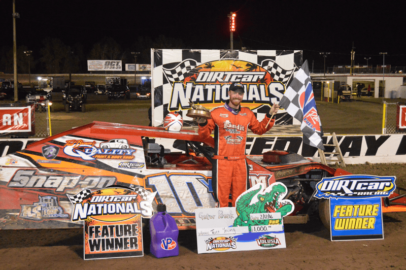 Trent Young Claims DIRTcar UMP Modified feature win