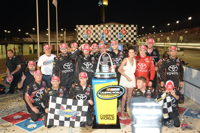 Christopher Bell Wins 3rd Annual Drivin' for Lineman 200 at Gateway Motorsports Park